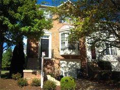 Gorgeous End Unit Townhouse! 14301 Stonewater Court, Centreville, Virginia 4 bedrooms, 3 baths, 1 partial bath, 2412 sq ft., .06 lot size, Colonial Townhome, 1 car garage attached.  Spencer Marker & co.  www.seln4u.com