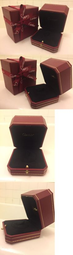 Jewelry Boxes 3820 Authentic Genuine Cartier Ring Empty Jewelry Box