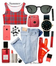 """""""Clic"""" by florenciafashionstreethunter ❤ liked on Polyvore featuring AG Adriano Goldschmied, JuJu, Moscot, Marc by Marc Jacobs, H&M, Butter London, Diana Vreeland Parfums, Ilia, MAC Cosmetics and NARS Cosmetics"""