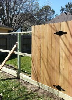 3 rail cedar fence with rot board