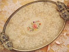 needlepoint tray