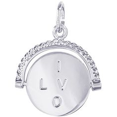 90c32ce068668c Rembrandt Charms I Love You Spinner 925 Sterling Silver * Learn more by  visiting the image link.