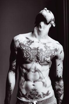 #tattoo #guy #hot