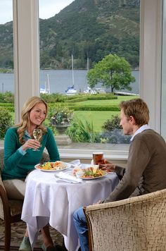 Casual dining.   Inn on the Lake, Ullswater, Lake District, Cumbria