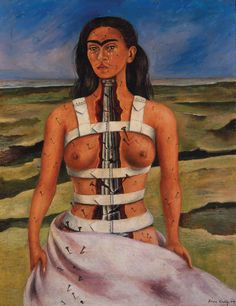 Frida Kahlo - La columna rota 1944