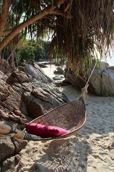 beach hammock, Koh Lipe, Thailand
