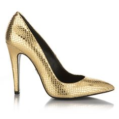 Gold stilettos Stilettos and Gold on Pinterest