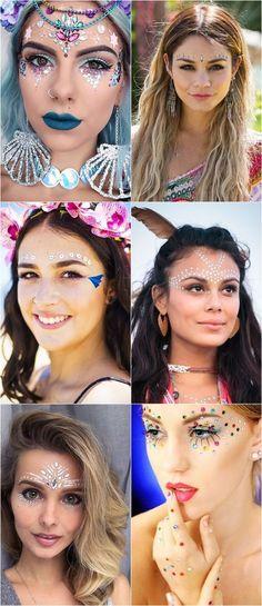 Maquiagens e acessórios pra usar no Carnaval
