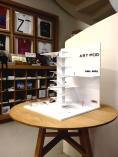 The Art Pod Micro-Gallery at the Museo del 900 Shop in Milano
