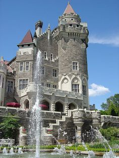 Casa Loma, Toronto Canada's Castle.I want to go see this place one day.Please check out my website thanks. www.photopix.co.nz