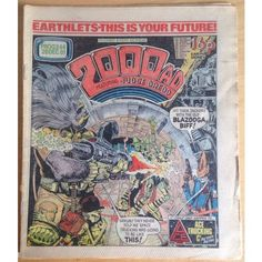 2000 AD #244 December 1981 UK Paper Sci Fi Comic