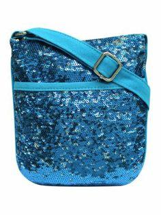$8.90 Blue Magic Sequin Mini Cross Body Bag