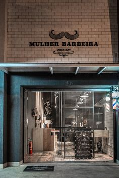 Barbearia de design industrial em Belo Horizonte.  Projeto Maycon Altera. Foto Aloízio Meireles