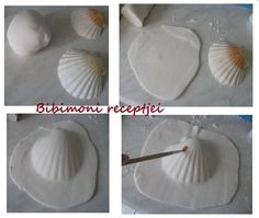 How to fondant shells