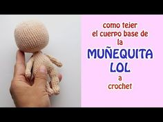 Youtube Crochet Patterns, Crochet Dolls Free Patterns, Crochet Doll Pattern, Doll Patterns, Handmade Soft Toys, Amigurumi Tutorial, Lol Dolls, Crochet Videos, Diy Doll