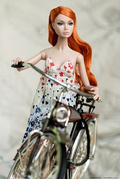 Me and my bicycle | by Odd Doll