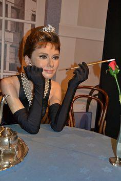 Madame Tussauds - London  Audrey Hepburn