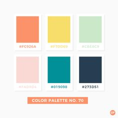 Color Palette No. 70 #color #colorscheme #colorpalette