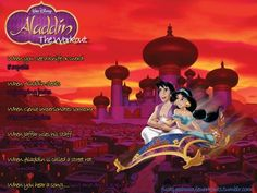 Aladdin…the workout!    Want to see more workouts like this?    Follow usherefor your favorite movies and tv shows! We take requests, too!
