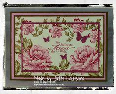 Bella´s Bastelecke: Stippled Blossoms....Zum Muttertag Teil 1....