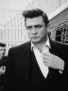 """""""I hurt myself today, to see if I still feel, I focus on the pain, the only thing that's real"""" - Hurt (originally by Trent Reznor/Nine Inch Nails). Johnny Cash walks inside the gates of Folsom Prison"""