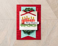 Merry Patterns Card Idea From Stampin' Up!