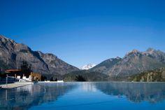 Infinity Edge Pool. Paradise in Patagonia.