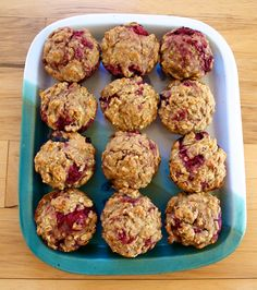 Raspberry Oatmeal Muffins | Strawberry Pepper