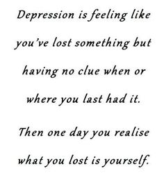 Depression......What for the signs..... help those around us..... love those closest to us..... support those we love.......