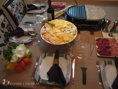 Receber e Celebrar: O que servir num jantar entre amigos? Raclette!