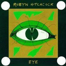"Robyn Hitchcock - Eye. I'd liked his work since Globe of Frogs and ""Balloon Man"" (as well as the Soft Boys), but this album sealed the deal."
