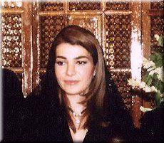 The late beautiful Princess Leila Pahlavi of Iran