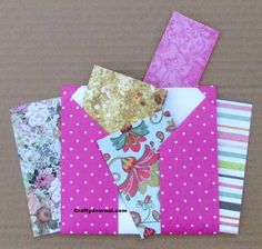 8 Pocket Folder from 1 Sheet of Paper Book Crafts, Diy And Crafts, Paper Crafts, Card Crafts, Paper Paper, Handmade Envelopes, Handmade Books, Folder Diy, Pocket Page Scrapbooking