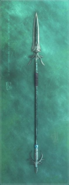 Dragongleam, an enchanted spear found at the White Lodge by the heroes