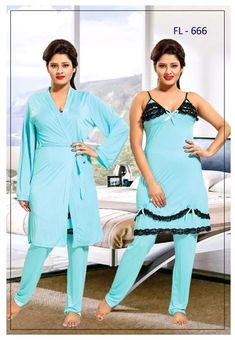 Stylish FL-666 - Flourish Exclusive Bridal Nighty Set Collection Nightwear  Online 6568a8292