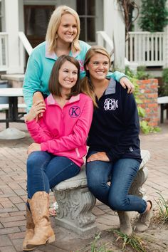 Monogrammed Preppy Pullovers - Up to XL! - Photo 4