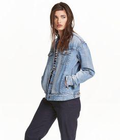 Denim Jacket | Denim blue | Ladies | H&M US