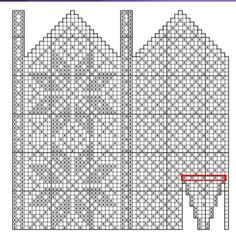 Bilderesultat for strikke diagram Crochet Mittens Free Pattern, Fair Isle Knitting Patterns, Knitting Charts, Knit Mittens, Mitten Gloves, Knitting Stitches, Knitting Socks, Knit Crochet, Yarn Projects