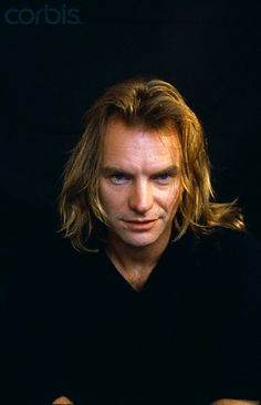 "English Singer and Actor Sting 1 agosto 1988 Very Eric the vampire looking from True Blood in this pic. ""Not a bad thing at all"". ❤️"
