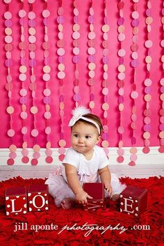 20 DIY Valentine's Day Photo Ideas for Kids and Babies from Craftionary.net