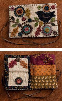 Felted Wool Crafts, Felt Crafts, Fabric Crafts, Sewing Crafts, Sewing Projects, Diy Crafts, Decor Crafts, Sewing Kits, Diy Projects