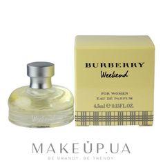 MAKEUP   Burberry Weekend For Women - Парфюмированная вода (мини)  купить  по лучшей цене в Украине db4384676ea