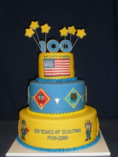 blue and gold boy scout banquet   Cub+Scout+Blue+and+Gold+Cake+002.JPG