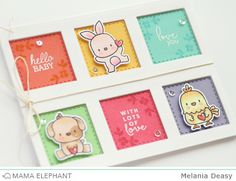 Mama Elephant Stamp Highlight Mini Messages