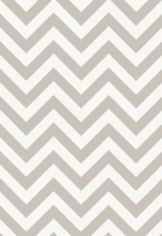 Gray and White Chevron Wallcovering | Fez in Dusk | Schumacher