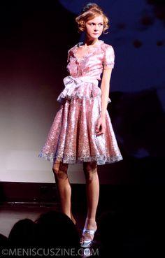 Douglas Hannant, Spring 2013, New York Fashion Week Presentation. Source: Meniscus Magazine #douglashannant #nyfw