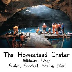 I want to go there. *sigh* The Homestead Crater - Natural Hot Springs - Swim, Snorkel, Scuba Dive