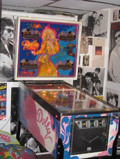 "Pinball Machines | ... friend of mine has a vintage Bally ""Dolly Parton"" pinball machine"