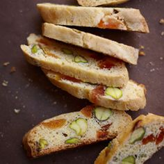 Best Biscotti Recipes - Delish.com and Apricot Pistachio Cornmeal biscotti