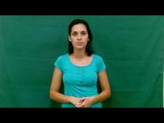 Lengua de Señas - Instituto de Idiomas: Nivel 1: Acciones I V Neck, Videos, Women, Fashion, Sign Language, Moda, Fashion Styles, Fashion Illustrations